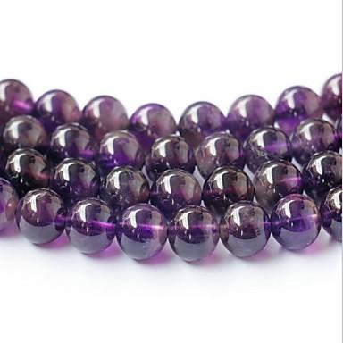 תכשיטים DIY 45 יח חרוזים קריסטל סגול עגול חָרוּז 0.8 cm עשה זאת בעצמך שרשראות צמידים