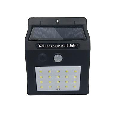 billige Utendørsbelysning-brelong 1pc 4w solar ledet flomlys utendørs belysning hvitt lys<5v
