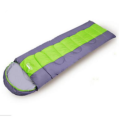 Schlafsack Rechteckiger Schlafsack 0~5~+12°C warm halten Windundurchlässig Staubdicht Wandern Camping Winter Frühling Herbst
