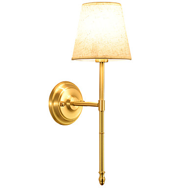 Country 220V 40 W / E14 Wall Lamps & Sconces Metal Wall Light (Gold)