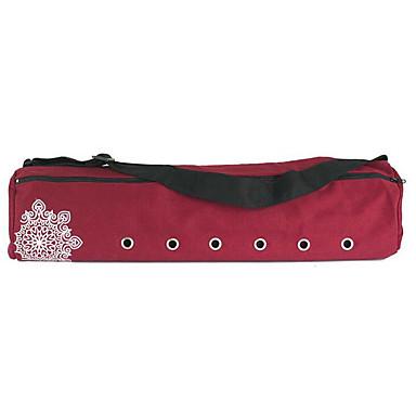 22 L Tasche für die Yogamatte - Freizeit Sport, Fitness Wasserdicht, Hohe Kapazität, tragbar Segeltuch Grau, Purpur, Rot