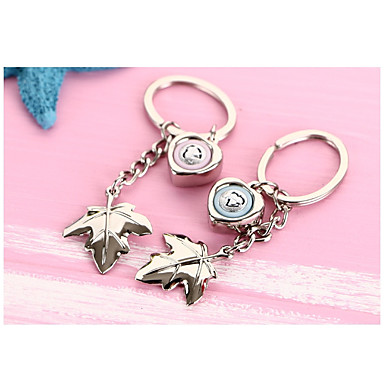 רומנטיקה מצדדים במחזיק מפתחות סגסוגת אבץ מחזיקי מפתחות - 2