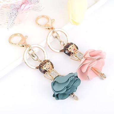 חתונה / חברים / יומהולדת מצדדים במחזיק מפתחות אבן נוצצת / סגסוגת מזכרות מחזיקי מפתחות - 1 pcs כל העונות