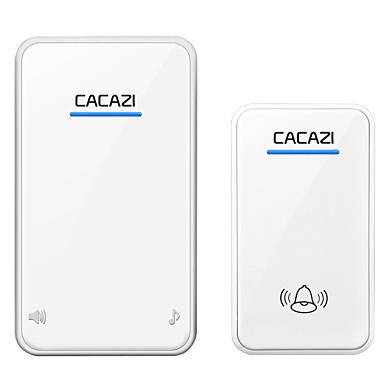 A8 אלחוטי צלצול פעמון אחד לאחד מוסיקה / דינג דונג צליל מתכווננת משטח מורכב פעמון הדלת