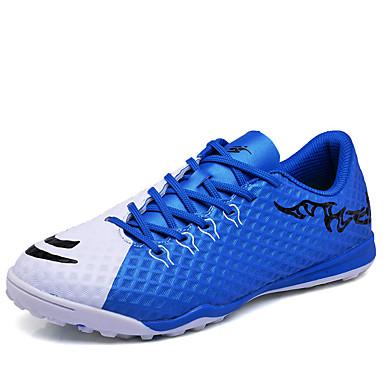 בגדי ריקוד גברים PU אביב / סתיו נוחות נעלי אתלטיקה כדורגל כתום / כחול / ירוק בהיר