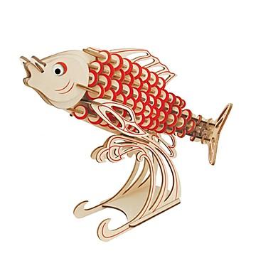פאזלים מעץ צעצועי היגיון ופאזלים אופנה דגים חיה קלסי אופנה עיצוב חדש רמה מקצועית פוקוס צעצוע הפגת מתחים וחרדה עץ 1pcs איכות גבוהה בגדי