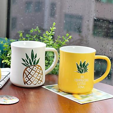 drinkware חַרְסִינָה ספל בידוד 2 pcs