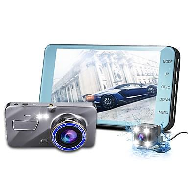 abordables DVR de Voiture-1080p Mini DVR de voiture 170 Degrés Grand angle 4 pouce IPS Dash Cam avec Vision nocturne / Enregistrement du cycle en boucle Enregistreur de voiture