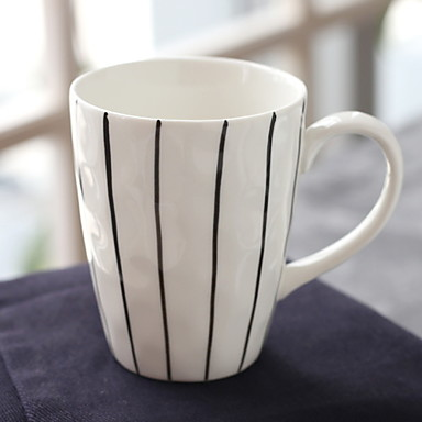 drinkware חַרְסִינָה ספל מעודד מצב רוח טוב / בידוד 2 pcs