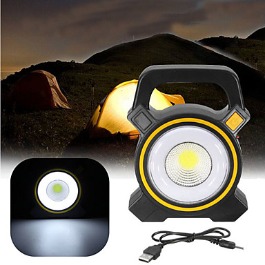 נורות שיטפון תאורה ניידת נורות סולריות לד תאורת חירום פלסטי בחוץ ל קמפינג צהוב אפור כהה