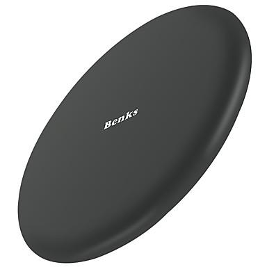 Benks מטען אלחוטי מטען USB אוניברסלי מטען אלחוטי / הטענה מהירה 1חיבורUSB 2 A 9 V ל iPhone 8 Plus / iPhone 8 / S8 Plus