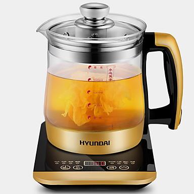 קומקום זכוכית פלדת על חלד תנורי מים 220 V 800 W מכשיר מטבח