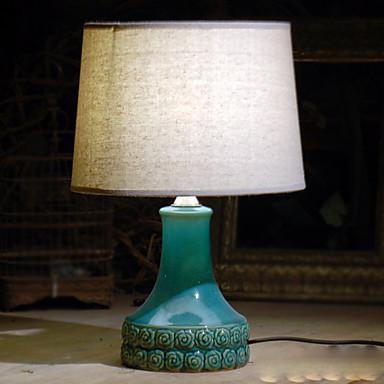 מסורתי / קלסי דקורטיבי מנורת שולחן עבור חדר שינה קרמיקה 220V