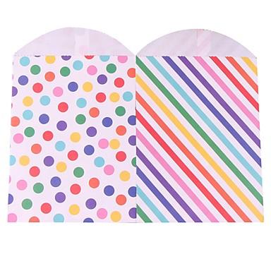מלבני אמנות נייר מחזיק לטובת עם דוגמא תיקי קישוט