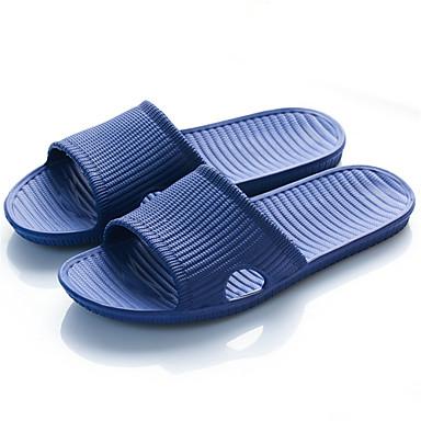 Męskie Komfortowe buty EVA Lato Klapki i japonki Czarny / Ciemnoniebieski