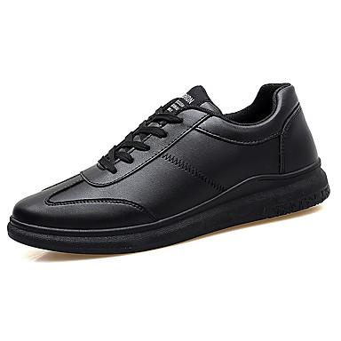 Ανδρικά Οδήγηση παπούτσια PU Καλοκαίρι Ανατομικό   Παπούτσια ζευγάρι  Oxfords Φοριέται Λευκό   Μαύρο   Μαύρο   Άσπρο 5580021 2019 –  14.99 bf6876c04fa