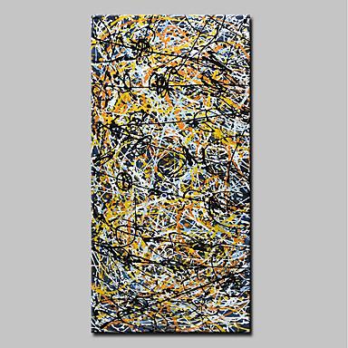 ציור שמן צבוע-Hang מצויר ביד - מופשט אומנות פופ מודרני בַּד