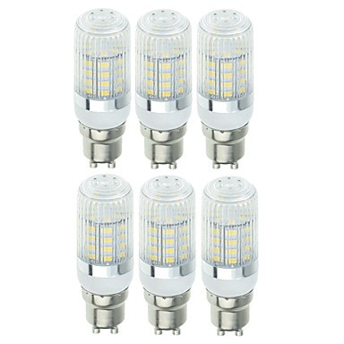 billige Elpærer-SENCART 6pcs 5 W LED-kornpærer 900 lm E14 G9 GU10 T 40 LED perler SMD 5730 Dekorativ Varm hvit Kjølig hvit 220-240 V 110-120 V