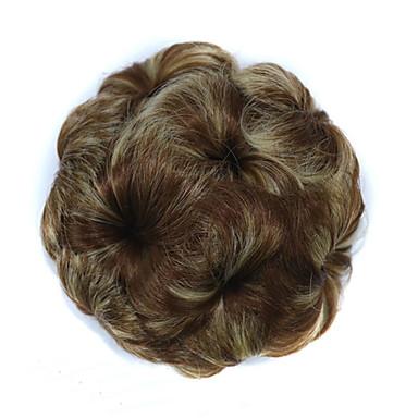povoljno Perike i ekstenzije-Kose za kosu Cvijeće Kose za kosu Modni dizajn / Sexy Lady Vezica Sintentička kosa Kose za kosu Ugradnja umetaka Cvijeće Kestenjast / Strawberry Blonde / Light Blonde / Kesten Brown / Bleach Blonde
