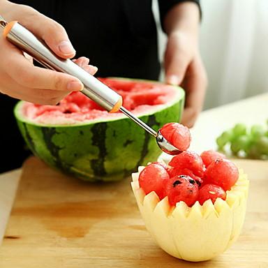 Narzędzia kuchenne Stal nierdzewna Kreatywny gadżet kuchenny łyżka dla owoców 1 szt.