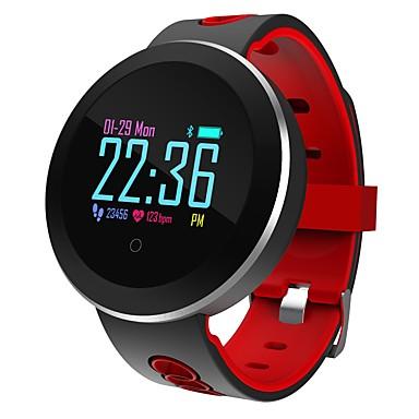 חכמים שעונים ל iOS / Android מוניטור קצב לב / מודד לחץ דם / מידע / שליטה במצלמה / בקרת APP מד צעדים / מזכיר שיחות / מעקב שינה / תזכורת בישיבה / Alarm Clock / חיישן כבידה / NRF51822 / 200-250