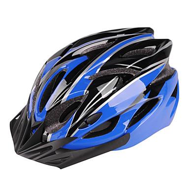 WEST BIKING® Capacete de bicicleta 24 Aberturas Montanha EPS + EPU Ciclismo de Estrada / Ciclismo de Lazer / Ciclismo / Moto Branco / Azul