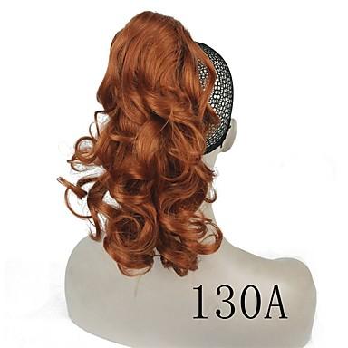 저렴한 가발 & 헤어 연장-클립 인/온 Wig Accessories 아프리칸 브레이드 인조 합성 헤어 헤어 피스 헤어 확장 직진 14인치 일상복