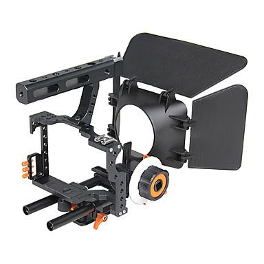 yelangu dslr populares câmera gaiola ombro montar sonda kit c500 conter siga câmeras universais foco de apoio matte box