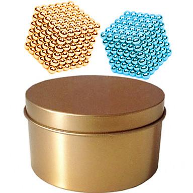 billige Bygningslegetøj-216*2 pcs Magnetiske puslespil Magnetiske kugler Byggeklodser Superkraftige neodym-magneter Neodymmagnet Puslespil Cube Magnetisk Magnetisk Type Professionelt niveau 3mm GDS Børne / Voksne Drenge Pige