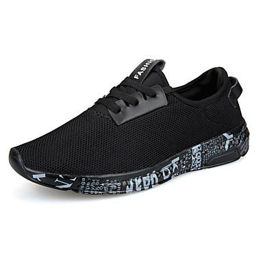 בגדי ריקוד גברים רשת אביב / סתיו נוחות נעלי אתלטיקה הליכה שחור / שחור וזהב