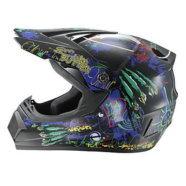 motocross off-road corrida capacete lobo dewclaw velocidade de rosto cheio competindo capacete de motorsport durável