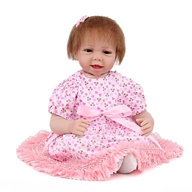 Npk Doll Bambole Reborn Bambola Bambine 22 Pollice Silicone Vinile - Neonato Realistico Carino Fatto A Mano A Prova Di Bambino Non Toxic Per Bambino Unisex - Da Ragazza Giocattoli Regalo #06573927 Sconto Complessivo Della Vendita 50-70%