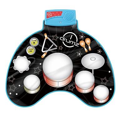 צעצוע מוסיקה צעצועי כלי מנגינה כלים מוסיקליים מערכת תופים מוזיקה