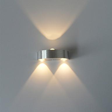 nowoczesny kinkiet 3w ledowy korytarz wewnętrzny w górę dół oświetlenie punktowe aluminiowe oświetlenie dekoracyjne