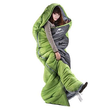 Naturehike Śpiwór Śpiwór typu Koperta 8°C Keep Warm Rain-Proof Gruba Camping & Turystyka Obuwie turystyczne Wiosna/jesień Pojedyncze