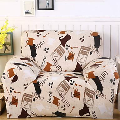 עכשווי 100% פוליאסטר ג'אקארד כיסוי ספה דו מושבית, פשוט עכשווי הדפס כיסויים