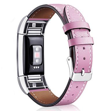 Watch Band na Fitbit Charge 2 Fitbit Klasyczna klamra Skóra Opaska na nadgarstek