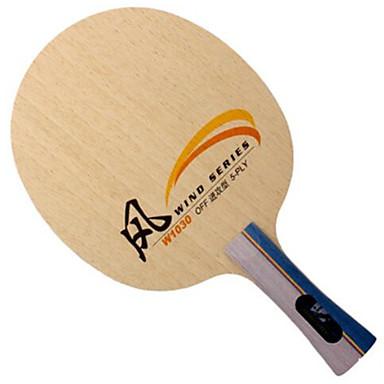 DHS® W1130 Ping Pang/מחבטי טניס שולחן לביש עמיד עץ 1