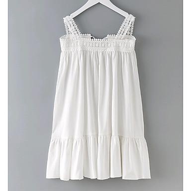שמלה אחיד פשוט בנות ילדים