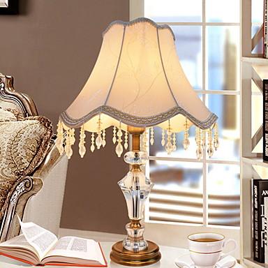 Tradycyjny / Klasyczny Dekoracyjna Lampa stołowa Na Metal 220-240V Biały