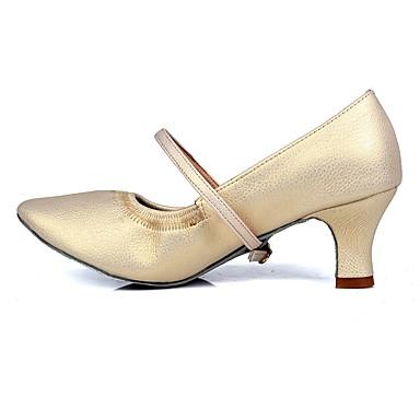 406f782c5cf3 Mujer Zapatos de Baile Moderno TPU / Semicuero Tacones Alto Hebilla Tacón  Cubano Personalizables Zapatos de baile Beige / Entrenamiento