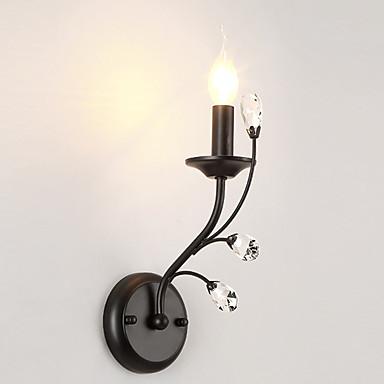 LightMyself™ Kryształ Prosty / Nowoczesny / współczesny Lampy ścienne Salon / Sypialnia / Kuchnia Metal Światło ścienne 110-120V / 220-240V 40 W / E12 / E14
