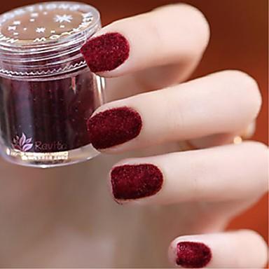 8szt Glitter Proszek Przenośny / צבע אחיד Nail Art Tool