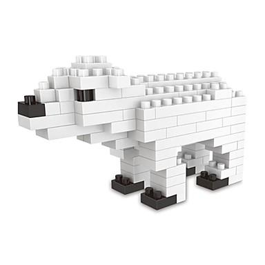 אבני בניין 1 pcs Bear חיה חיות קלסי ונצחי בנים בנות צעצועים מתנות