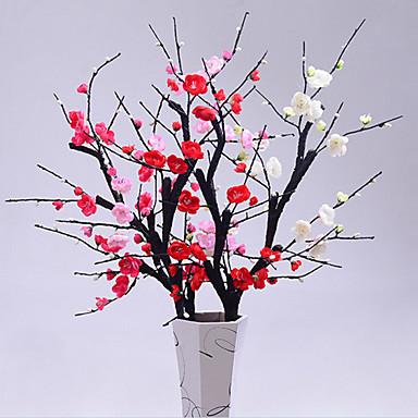 Sztuczne Kwiaty 1 Gałąź Nowoczesny / minimalistyczny styl Śliwka Bukiety na stół