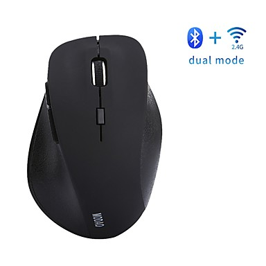 Bezprzewodowy bluetooth4.0 / Bezprzewodowy 2.4G Ergonomiczna mysz Optyczny E1802 6 pcs klawiatura Lampka LED 3 regulowane poziomy czułości 800/1200/1600 dpi