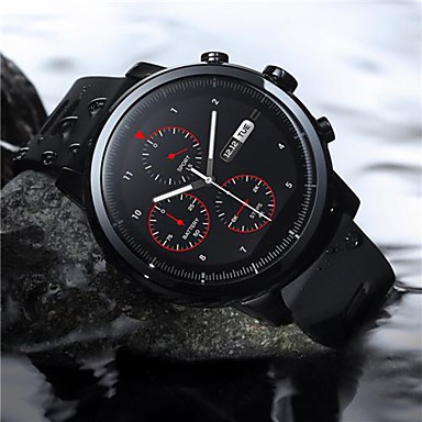 Original Xiaomi HUAMI AMAZFIT Stratos Smart Sports Watch Version2 1.34 Inch 2.5D Screen 5ATM Water Resistant GPS-International Edition