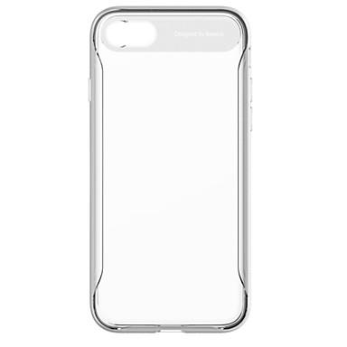 מגן עבור Apple iPhone 8 / iPhone 7 עמיד בזעזועים / שקוף כיסוי אחורי אחיד רך סיליקון ל iPhone 8 / iPhone 7