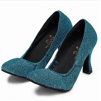 Bleu Talon Confort à Talons Eté Aiguille Femme 06641878 Chaussures Chaussures Polyuréthane Printemps IxqYvw8g