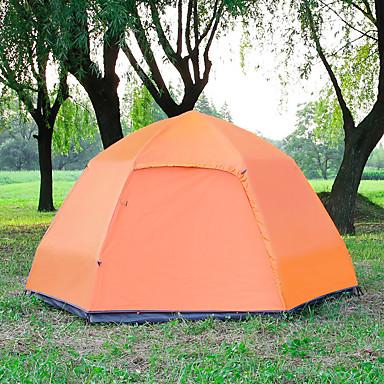 TANXIANZHE® 5-7 Pessoas Tenda Duplo Barraca de acampamento Ao ar livre Tenda Automática Á Prova de Humidade Prova-de-Água Á